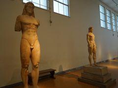 アテネ国立考古学博物館【3】幾何学様式期・アルカイック期(紀元前9世紀~前480年頃)
