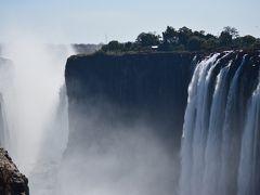 女ひとり旅、タンザニアから南アフリカまでを結んでみた!~ビクトリアの滝(ザンビア側)~