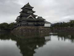 安曇野、松本城めぐり。リゾートで雨が降ったら