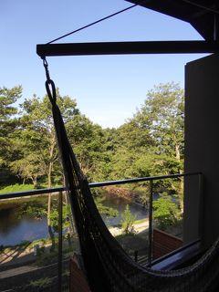 夏の優雅な浅間高原バカンス♪ Vol9 ☆軽井沢:「レジーナリゾート軽井沢・御影用水」お部屋から朝の風景を眺めて♪