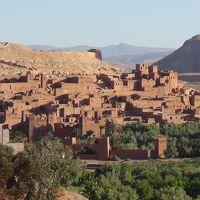 (28)2013年GWモロッコの旅9日間(4)ワルザザード(タウリルトのカスバ) アイト・ベン・ハッドゥ アトラス山脈 ティシュカ峠)