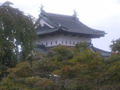 青森の弘前城と花の無い枝垂桜の原木を見に!
