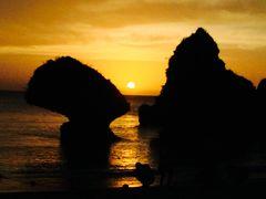 2016年9月 ☆久々の親子三人旅は沖縄へ Vol.3☆「ブルーシールアイス」〜「万座毛」観光〜「ホテル日航アリビラ ビーチハウスSOL」でサンセットディナー〜