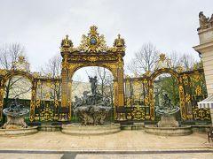 パリ~アルザス・ドライブ #20 - ナンシー、ネプチューンの噴水と黄金の門