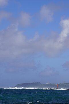 台風16号と17号の狭間を旅した沖縄4日間(6)新原(みーばる)ビーチのグラスボートと国際通りのサムズ・セーラーインでステーキランチ。