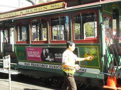 還暦夫婦27日間カナダアメリカ周遊旅行 サンフランシスコ ヨセミテからのバスは右側がベスト