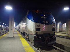 アムトラック大陸横断鉄道カリフォルニアゼファー号の旅 その2 いよいよシカゴ発