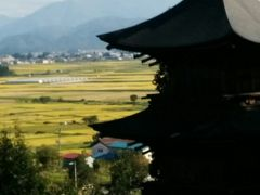 会津美里町は稲刈りに追われていた。歴史の重みを感じる三か寺観音まいり(その1)