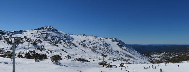 海外スキー 暑い夏をスキーで涼む旅  Da...