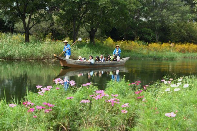 『河川環境楽園』は国営公園(国営木曽三川公園)、県営公園(岐阜県)、自然共生研究センター、東海北陸自動車道の川島PA及びハイウェイオアシスからなる複合型公園で、『河川環境楽園』は、川島PAから入場することができる。<br />入場無料です。<br /><br />公式HP<br /><br />http://kisosansenkoen.jp/~kasenkankyou/mkasen_goannai.html<br /><br />