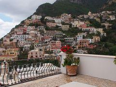 Buongiorno~~!ゆるゆる~~わが家の南イタリア旅 8 ★陽気すぎるタクシードライバー・アントニオとポジターノへ・・・&眺めが抜群!Hotel Villa Rosa★