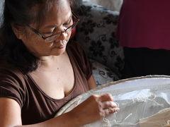 ルンバン ~ フィリピン伝統刺繍の工房を訪ねる《フィリピン紀行(13)》