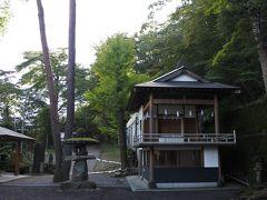 伊香保温泉の紅葉はまだまだ先(10月7日)