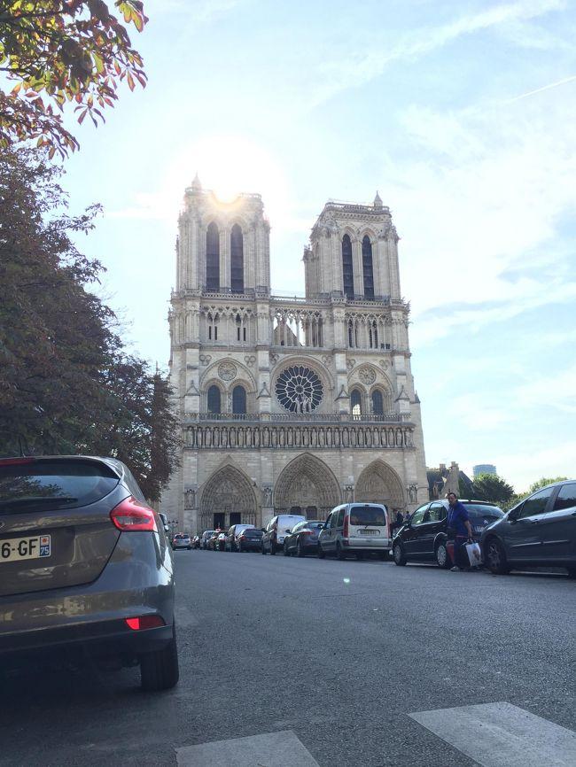 パリ旅行で地図や観光・食事情報収集に欠かせない携帯電話ですが、今回は通信会社OrangeのSIMカードをOrangeショップで購入しました。ちょっとパリの通信会社の店員も簡単に通信ができなく四苦八苦していました。<br />パリの2日目は、「パリミュージアムパス」を使って、パリ市内の観光地めぐりの前半です。シテ島のコンシュルジュリー、サントシャペル、ノートルダム寺院とマドレーヌ寺院を訪問しました。
