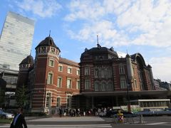 東京駅周辺を歩く