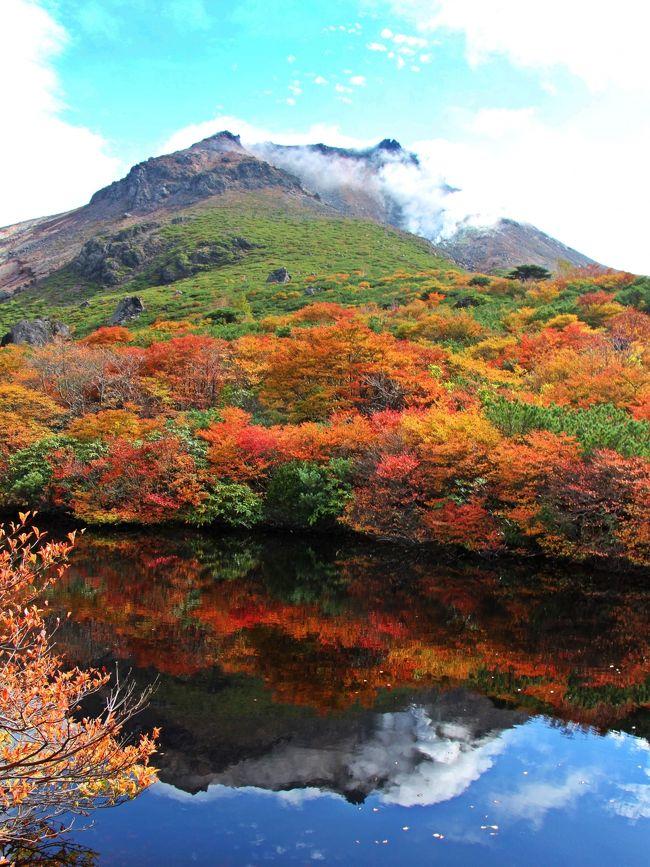 脈打つ大地は 秋けわい☆朝駆けで歩く 錦繍の那須/ストレスなんて ぶっ飛ばせ!