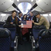 ムロたん、あこがれのニューヨーカーになる! その1 アメリカン航空メインキャビンエクストラに乗ってシカゴ経由でニューヨークへ