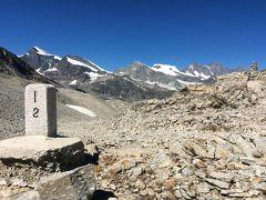 スイス・イタリア国境からミシャベルアルプスの名峰を眺める、PART1