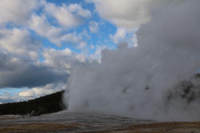アメリカの大自然、絶景を巡る旅 その④ (イエローストーン国立公園周辺)