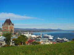 カナダ旅その4 ケベック 芸術と音楽あふれる街並み散歩