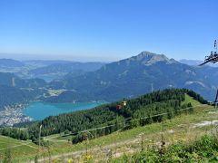 2016年夏(9)St.ギルゲン滞在 Zwölferhorn 360度絶景パノラマコース ハイキングとまち歩き