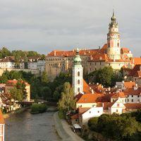 美しのドナウと中欧4カ国の旅 8日間 6 ( 旅行3日目 チェコで最も美しい街チェスキー・クルムロフ編 ① )