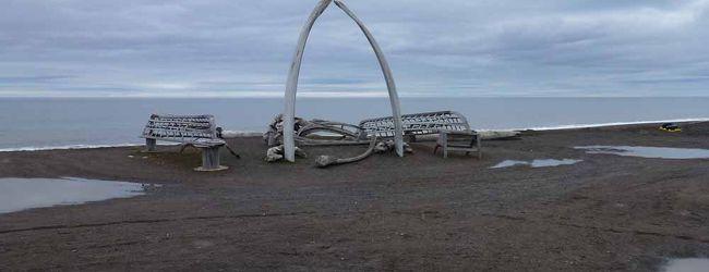 米国最北端バロー岬を見る
