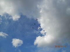 浜松k3航空自衛隊基地観光ツアーは駐車場でも充分航空ショー見学