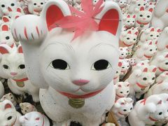 世田谷区 豪徳寺 招き猫(=^・・^=)
