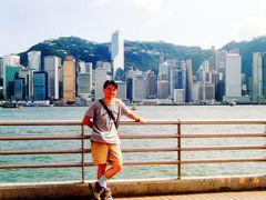1991年、初海外の香港