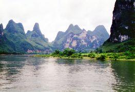 1991年、初海外の桂林