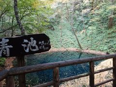 白神山地の十二湖を散策。青池の青さと静けさに感動。
