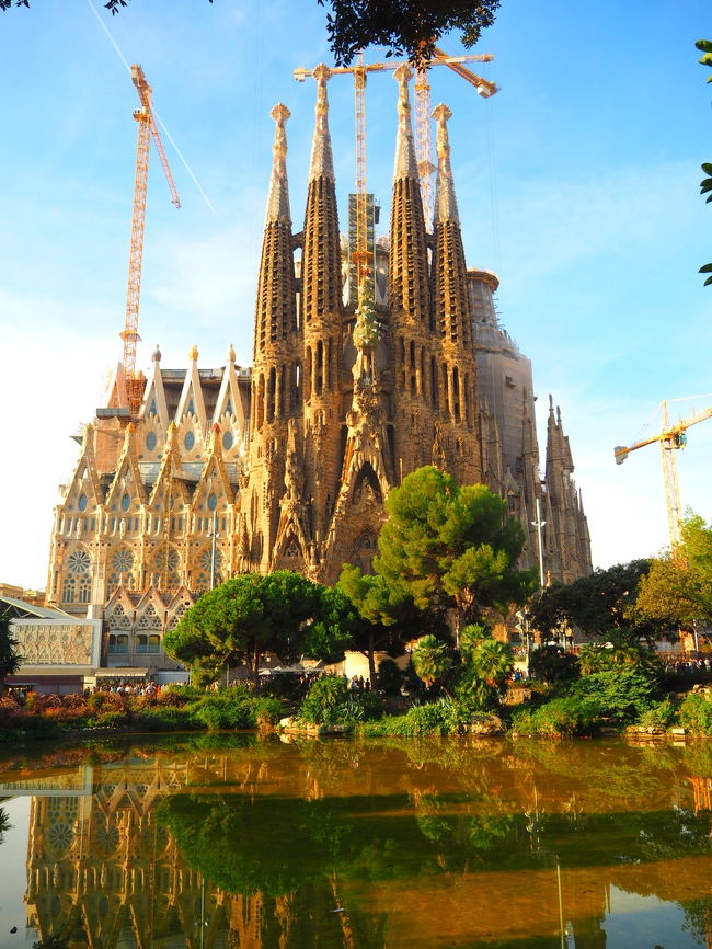 2016/10/13-2016/10/18、7泊4日でスペインへ♪<br /><br />世界遺産とガウディ建築を満喫!<br />スペインでやりたかった10のこともほぼコンプリートした一人旅でした!<br /><br /><br />◆旅程◆<br />10/13 22時半 成田空港発 TK利用<br /><br />10/14 11時 マドリード着 バスでアトーチャ駅まで移動<br />    14時頃 AVANT利用トレドへ(移動時間30分)<br />       17時頃 迷いに迷ってホテル到着。まだ明るいので観光。<br /><br />10/15 15時頃まで観光、AVANTでアトーチャ駅へ<br />    16時頃 アトーチャ駅→バルセロナ(AVE利用約3時間半)<br />    19時頃 バルセロナ・サンツ駅着<br />    20時半頃 迷いに迷って宿泊するレジデンス着<br />    21時頃 サグラダファミリアライトアップ&食事<br /><br />10/16 一日バルセロナ観光<br />    ・カテドラル<br />    ・カタルーニャ音楽堂<br />    ・サグラダファミリア<br />    ・カサ・バトリョ<br />    ・バルセロネータでのんびり<br />    ・バル&パエリア満喫<br /><br />10/17 このあたりで少しガウディ食傷気味に…。<br />    ・カサ・ミラ<br />    ・ゴシック地区ふらふら<br />    ・アシャンプラふらふら<br />    ・14時からモンセラット観光(オプショナルツアー)<br />    ・〆はサグラダファミリアのライトアップ<br /><br />10/18 スペインの建築大好き!<br />    ・早朝のグエル公園<br />    ・サン・パウ病院<br />    ・のみの市<br />    ・サグラダファミリア<br />    17時ごろバルセロナの空港へ<br /><br />10/19 19時 成田着