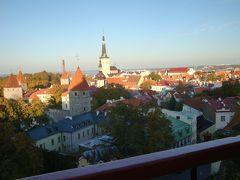 バルト三国、3番めの訪問地エストニア、タリンにて