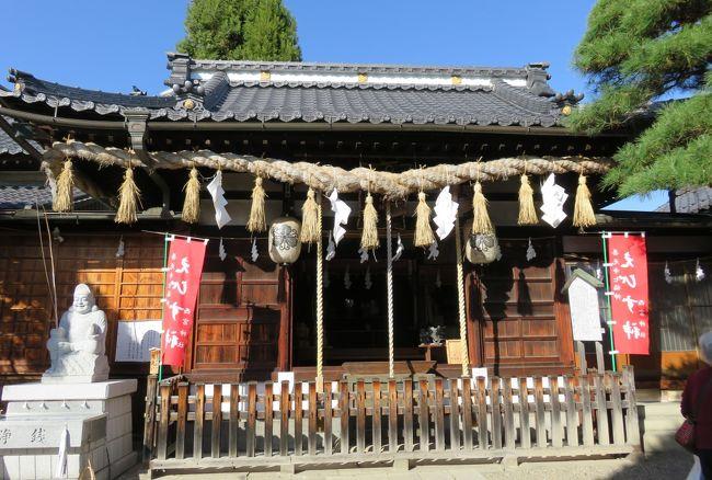 善光寺七福神巡りの五番目は、布袋様を祀るお店の玄関横の紹介です。つい、行き過ぎてしまい、後戻りしました。続いて、六番目の恵比須様を祀る西宮神社も紹介します。