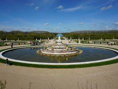 パリ~アルザス・ドライブ #22 - 番外編、広大なベルサイユ宮殿の庭園