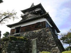 寛永年間に建てられた現存天守がある越前丸岡城登城