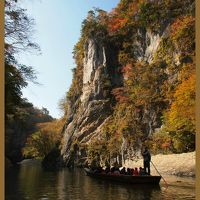 秋の渓谷・・・猊鼻渓(げいびけい)と厳美渓(げんびけい)の紅葉は・・・?