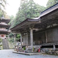 鎌倉時代に建てられた国宝の本堂と三重塔が美しい小浜の古刹明通寺参拝