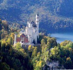 団塊夫婦のヨーロッパ紅葉を巡る旅2016:(6)紅葉のノイシュヴァンシュタイン城を見下ろす絶景スポットへ