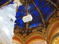 2016秋 Paris&London -1- 出発~パリのプチホテルCAUMARTIN OPERA Paris・クリスマス仕様のラファイエットへ