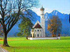 秋深まるメルヘンの国ドイツ一人旅。ノイシュバンシュタイン城・ヴィース教会・フュッセン観光編 嵐の一日