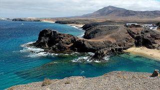 ★カナリア諸島(17、完)ランサローテ島  最後に訪れた鸚鵡の浜辺、そしてコンドル航空でドイツへ帰る