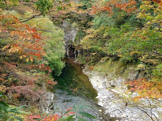 みちのく秋彩巡り 磊々峡・秋保大滝・二本松 ~ 羽田空港へ