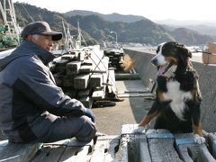 バーニーと行く北陸 大型犬との旅は楽しい!・・・か? 後編