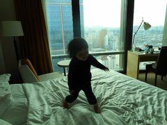 二歳児とソウルへ シェラトンDcube