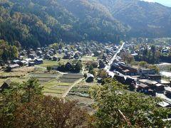 家族で上田・白川郷・金沢に行ってきました。(2日目)