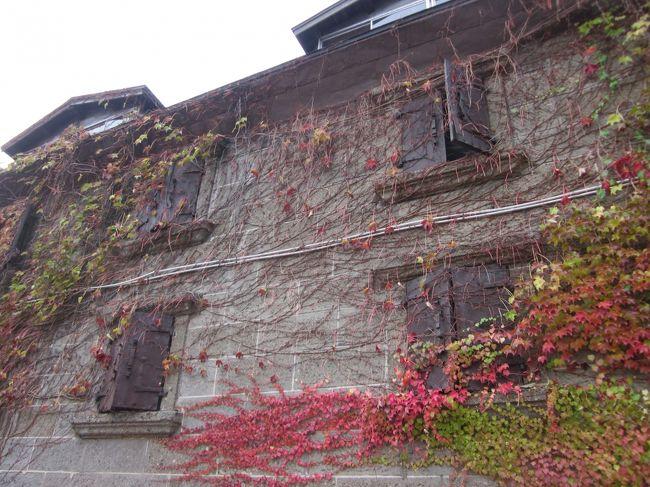 16 晩秋の北海道 小樽で昔ながらのレトロな市場巡りをぶらぶら歩き旅-1