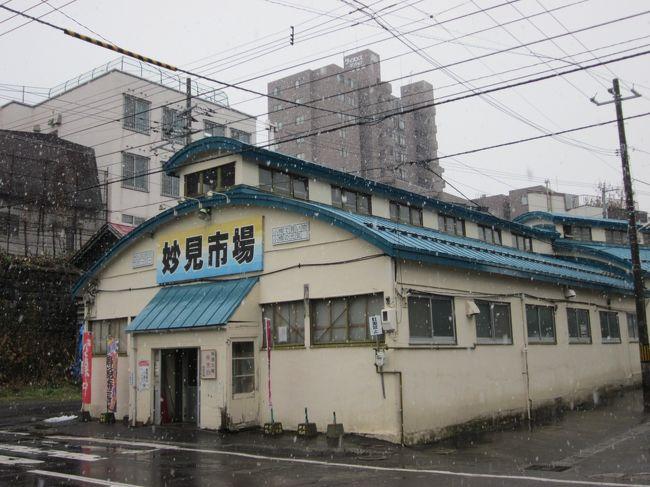 16 晩秋の北海道 小樽で昔ながらのレトロな市場巡りをぶらぶら歩き旅-3