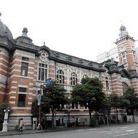 横浜・神奈川県庁経由シルク博物館方向へ
